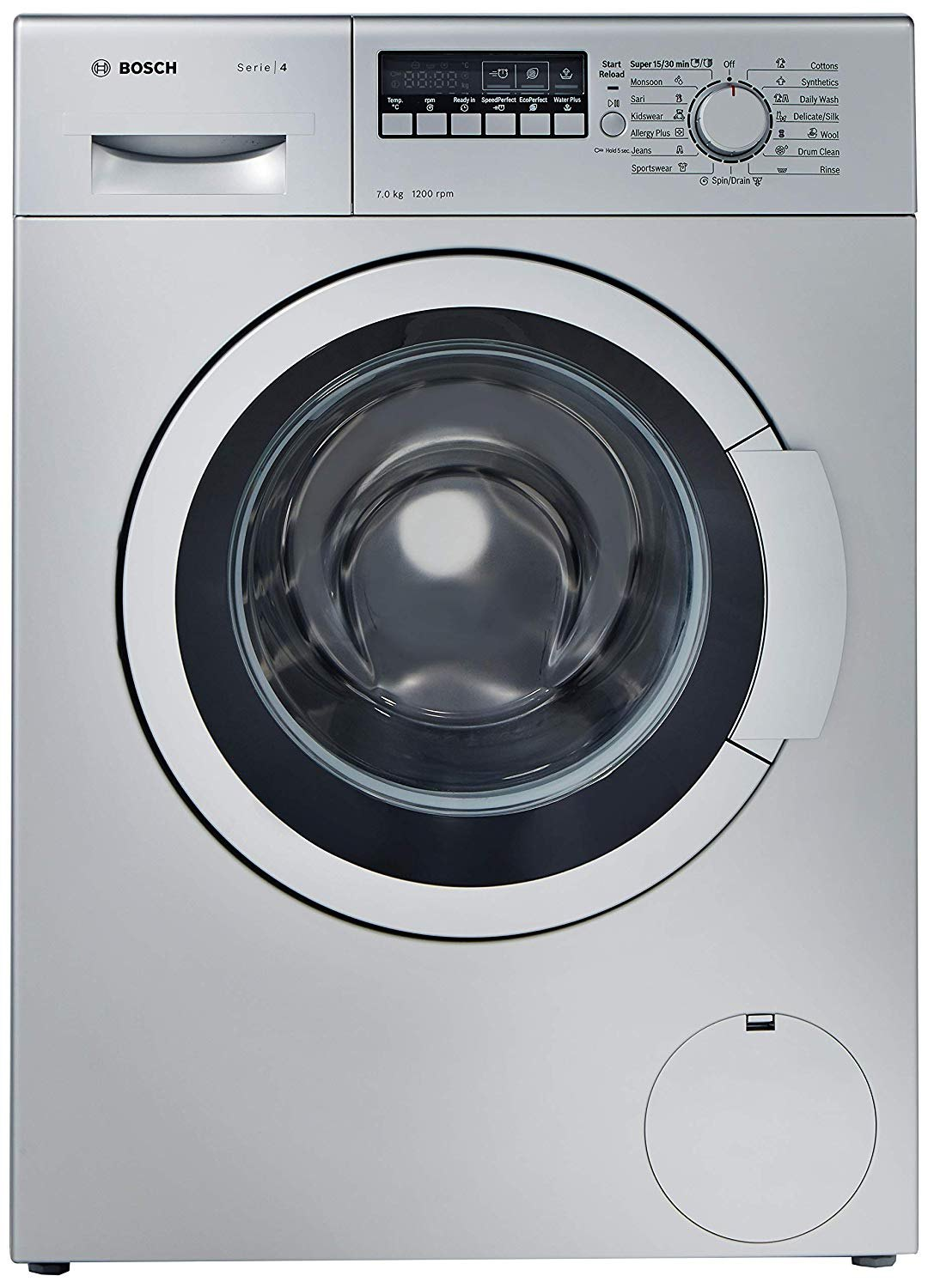 Bosch 7 kg Fully Automatic Front Load Washing Machine, WAK24268IN, Si...