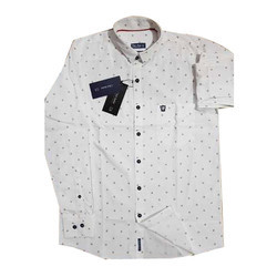 M And Xl Cotton Mens Printed Shirt