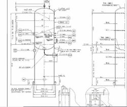 Vessel Detailed Drawings