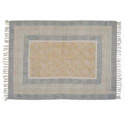 Handmade Printed Jaipur Rug