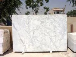 White Kitchens Calacatta Marble, Application Area: Flooring, Thickness: 18 mm