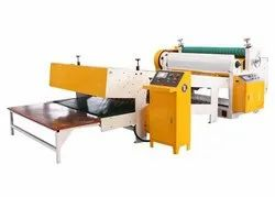KARUNYA 2 Ply Corrugated Sheet Rotary Reel to Sheet Cutter