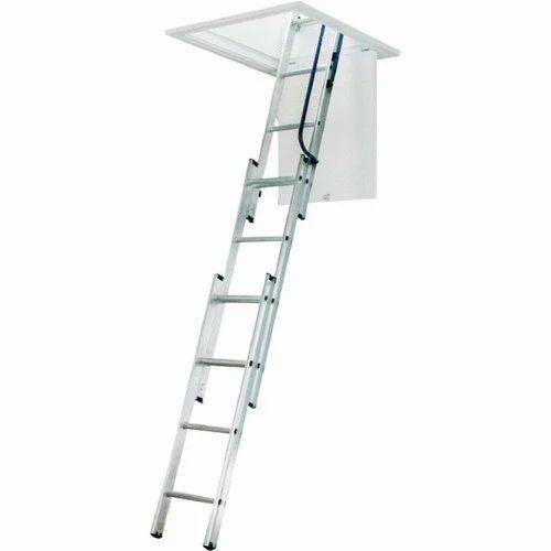 Aluminium Attic Ladder  sc 1 st  IndiaMART & Aluminium Attic Ladder at Rs 10000 /unit | Aluminum Ladders ...