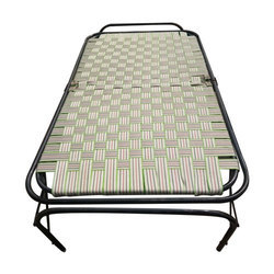 Iron Folding Bed, Size: 3 x 6 feet