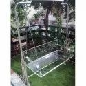Acrylic Jhula with Stand