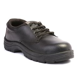 Nova Safe Steel Craft Black Safety Shoes Steel Toe