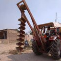 Tractor Driven Hydraulic Post Hole Digger