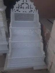 Handmade White Masjid Mimber