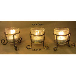 5804317e230 Candle Stand Single Votive with Candle