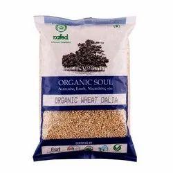 Organic Wheat Dalia, Country Of Origin: India, Packaging Size: 500 Gram