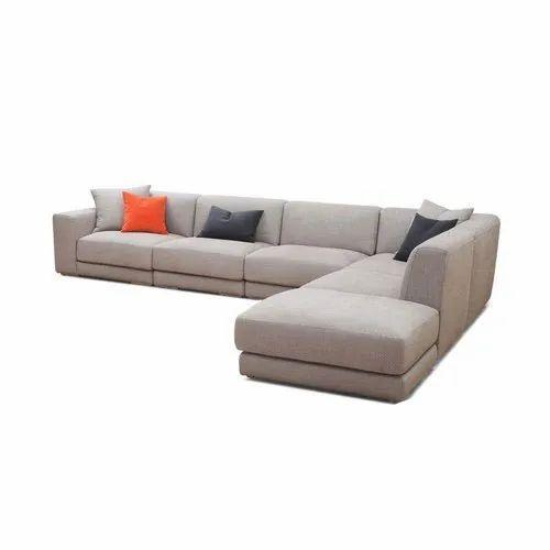 Microfiber Modular Corner Sofa, Rs 9000 /unit, Living Roomz   ID ...