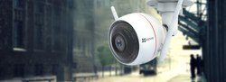 EZVIZ EZGUARD 1080P C3W White Dome CCTV Camera, 2 mp