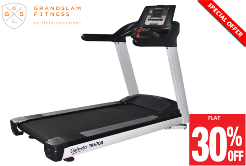 Turbuster Tr 6700 Semi Commercial Ac Motorized Treadmill,heavy Duty  Treadmill,home Fitness Machine,
