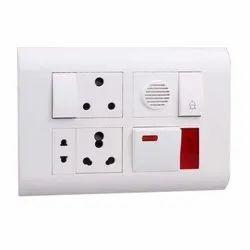 Pvc Electrical Switch Board, 3