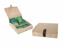 Veneer Wood Tea Box