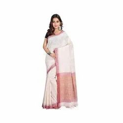 5.5 Meter Khadi Cotton Saree