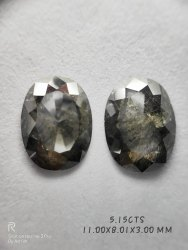 Natural Peridot Oval Shape Stones, Packaging Type: Packet, Size: 11.00X8.01X3.00MM