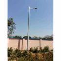 5.6 Meter Single-arm Grp Single Post Light Poles, For Street