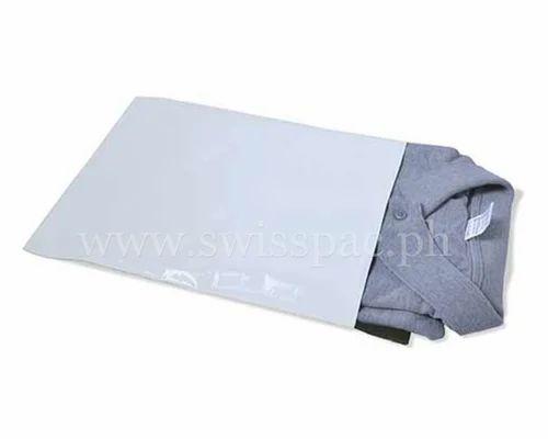 cda376c4048 White Plain Mailing Paper Bags
