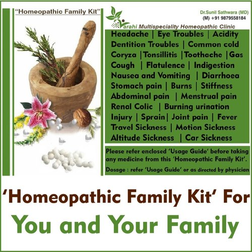 Homeopathic Family Kit