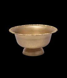 Vintage Gold Finish 11 Ltr Punch Bowl