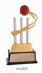 Golden Cricket Trophies
