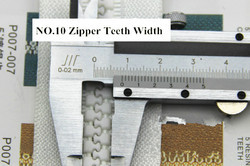 No.10 Plastic Zippers