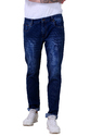 Men's Denim, 100% Cotton Knitted Fabric With Ball Blast Wash