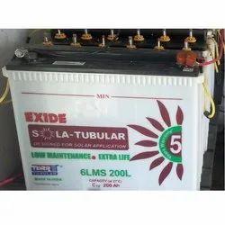 12 V 6LMS-200L Exide Solar Batteries