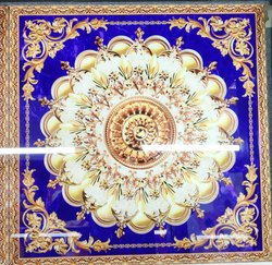 4X6 Ceramic Rangoli Tile