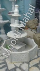 Moorti Mahal Outdoor Usage Marble Garden Fountain