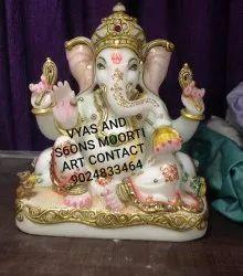 Marble Religious Ganesh Statue