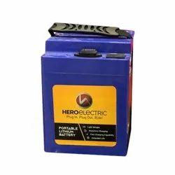 Hero Electric Portable Lithium Ion E Bike Battery