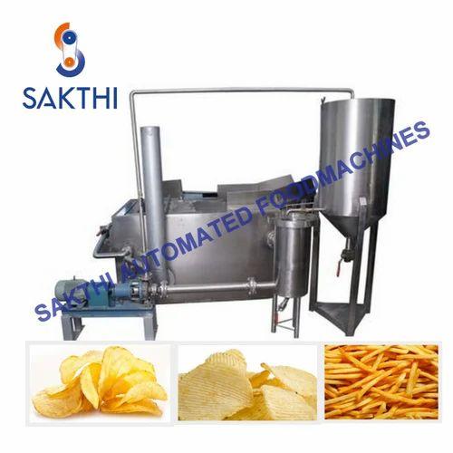 Semi Automatic Potato Chip Making Line