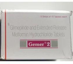 Gemer 2 Mg Tablets