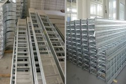 M.S. Pipe Section Cable Tray
