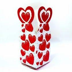 choco decor read chocolate box, Box Capacity: 250gm, Size: 22x9x9