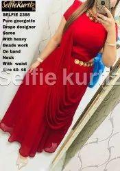 Ladies Drapped Sarees