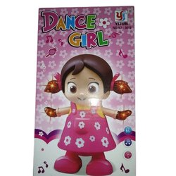 Plastic Dancing Girl Toy