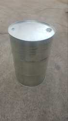 Galvanized Barrel Close Mouth, Capacity: 200-250 litres
