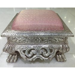 Polished Oxidized Silver Choki, Size: 12 Inches