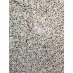 Polished S White Granite Slab, For Flooring, Thickness: 16 mm