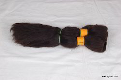 Non Remy Hair Bulks From Indian Human Hair