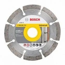 Stainless Steel Bosch Diamond Cutting Disc, Packaging Type: Box