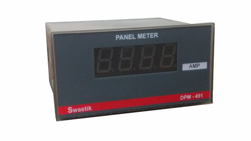 Digital Panel AC Ampere Meter, Model: DPM-A