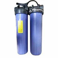 Blue ABS Water Filter Housing