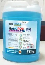 Nanorub Acive Hand Rub / Ethyl Alcohol / 5 Ltr Pack at Discounted Price