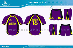 Sports practice jerseys