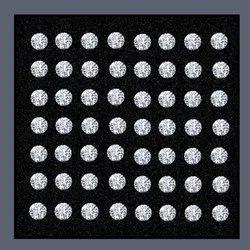 Lab Grown Diamond 3.30mm To 3.60mm GHI VVS VS Round Brilliant Cut HPHT