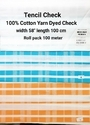 Cotton Yarn Dyed Check (Tencil Check)